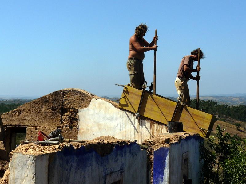 Erhöhen der Mauern